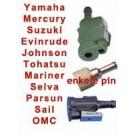 Female tankaansluitingen buitenboordmotoren / Brandstofstekker / tankfitting