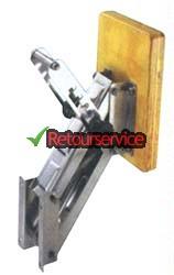 Buitenboordmotor steun (hout)