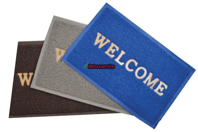 Deurmat boot Welcome
