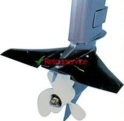 buitenboordmotor planeervleugels