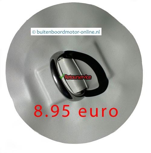 D ring - sleepring - hijsoog Rubberboot