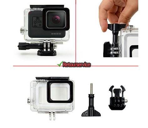 Onderwatercase voor GoPro Hero 5