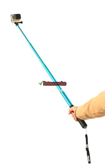 Blauwe stick voor GoPro