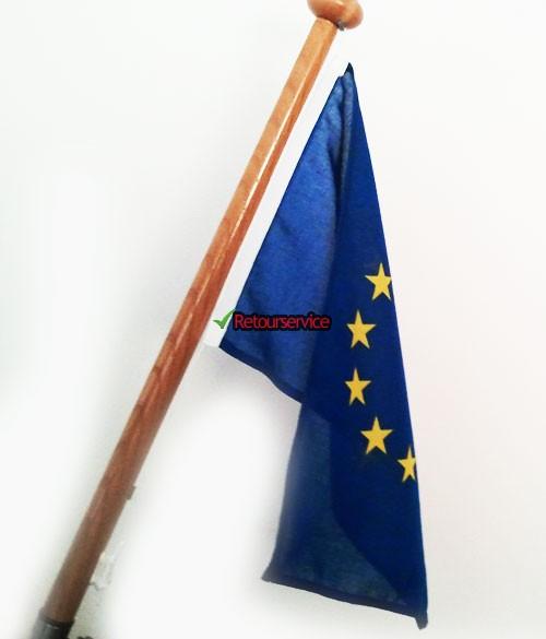 Complete vlag van Europese Unie