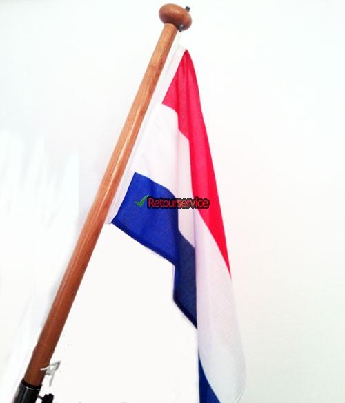 Complete vlag van Nederland