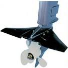 Hydrofoil stabilisator / planeervin vanaf 25 tot 225 pk (Minder brandstofverbruik)