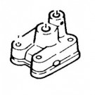 Yamaha buitenboordmotor waterpomp huis 4/5 pk 2-takt en 4-takt